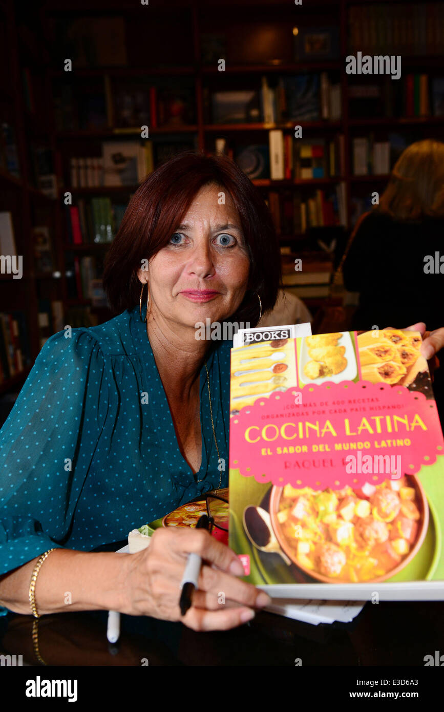 Bookstore Owner And Cuban Cookbook Author Raquel Roque Greets Fans Stock Photo Alamy