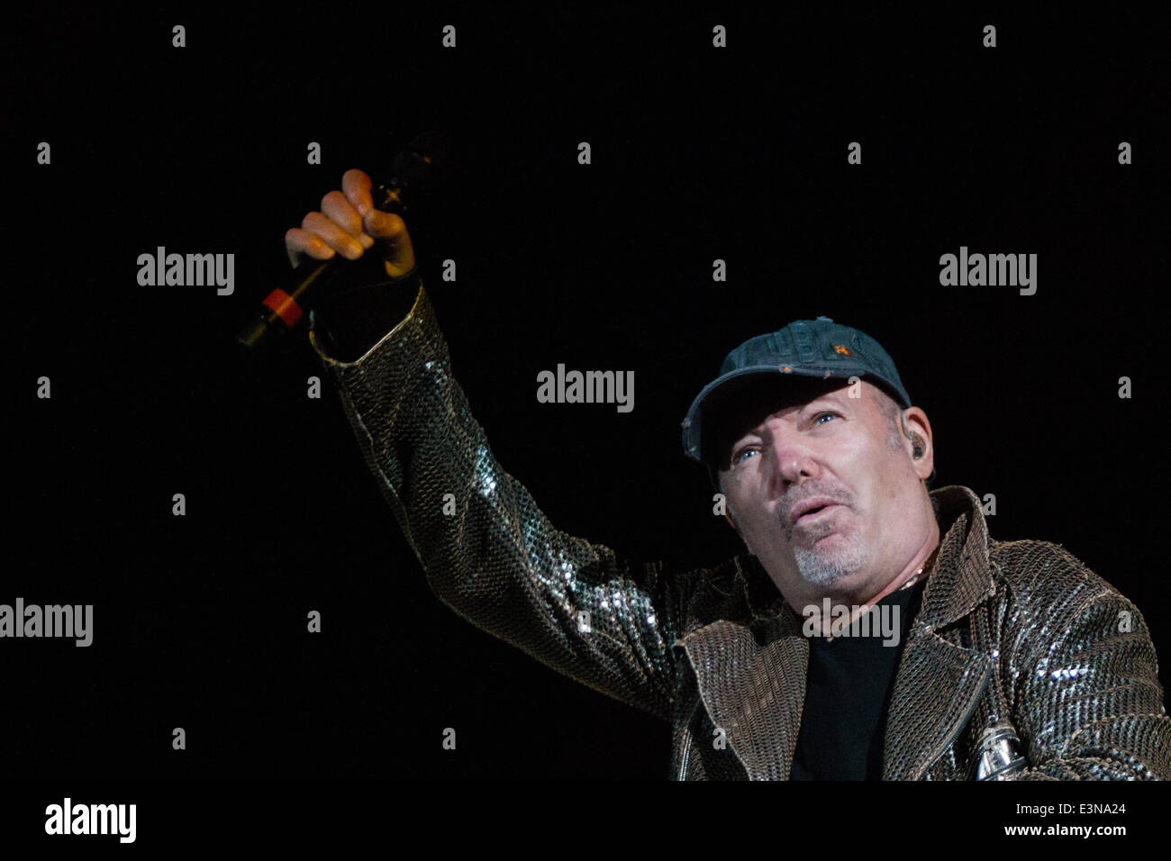 Vasco Rossi 2014 Album Vasco Rossi Live Stock Photos Vasco Rossi Live Stock Images Alamy
