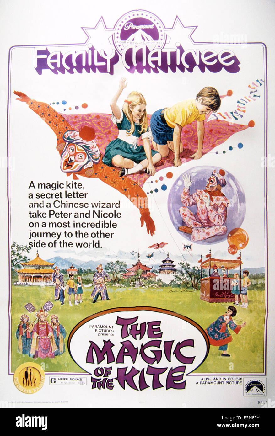 Poster Cerf The Magic Of The Kite Aka Cerf Volant Du Bout Du Monde Poster