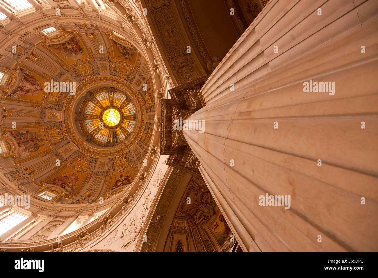 Interior Berlin Berliner Dom Cathedral Interior Stock Photos And Berliner