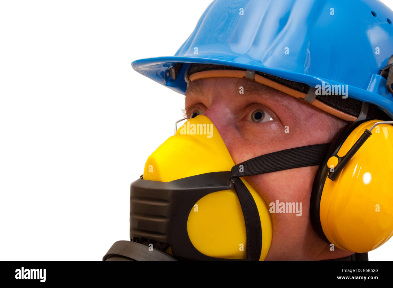 Labor Safety Construction Worker Labor Protection Occupational Safety Stock