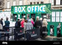 Edinburgh Fringe Festival Box Office outside the Assembly ...