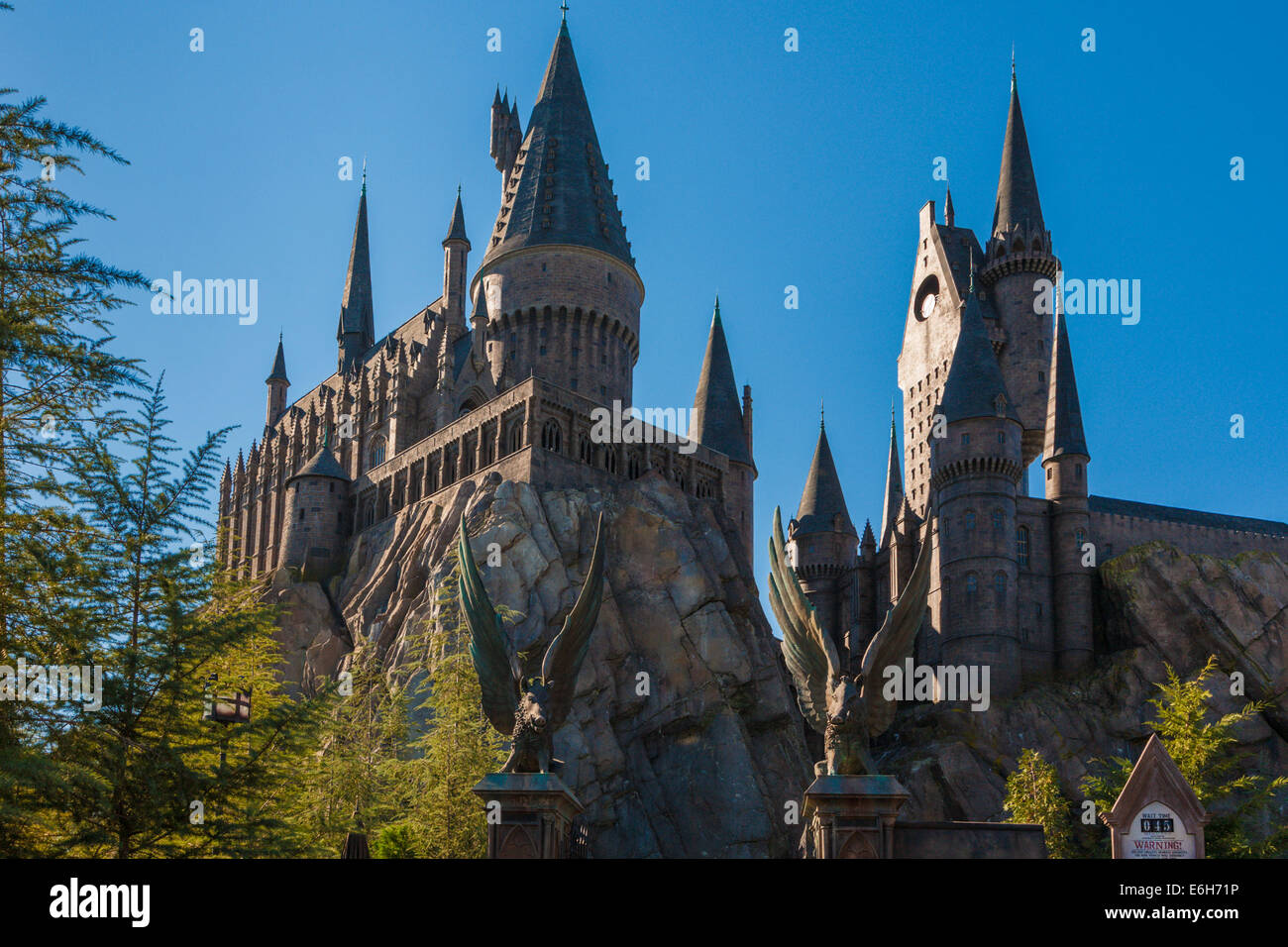 Harry Potter Hogwarts Hogwarts Castle Stock Photos And Hogwarts Castle Stock