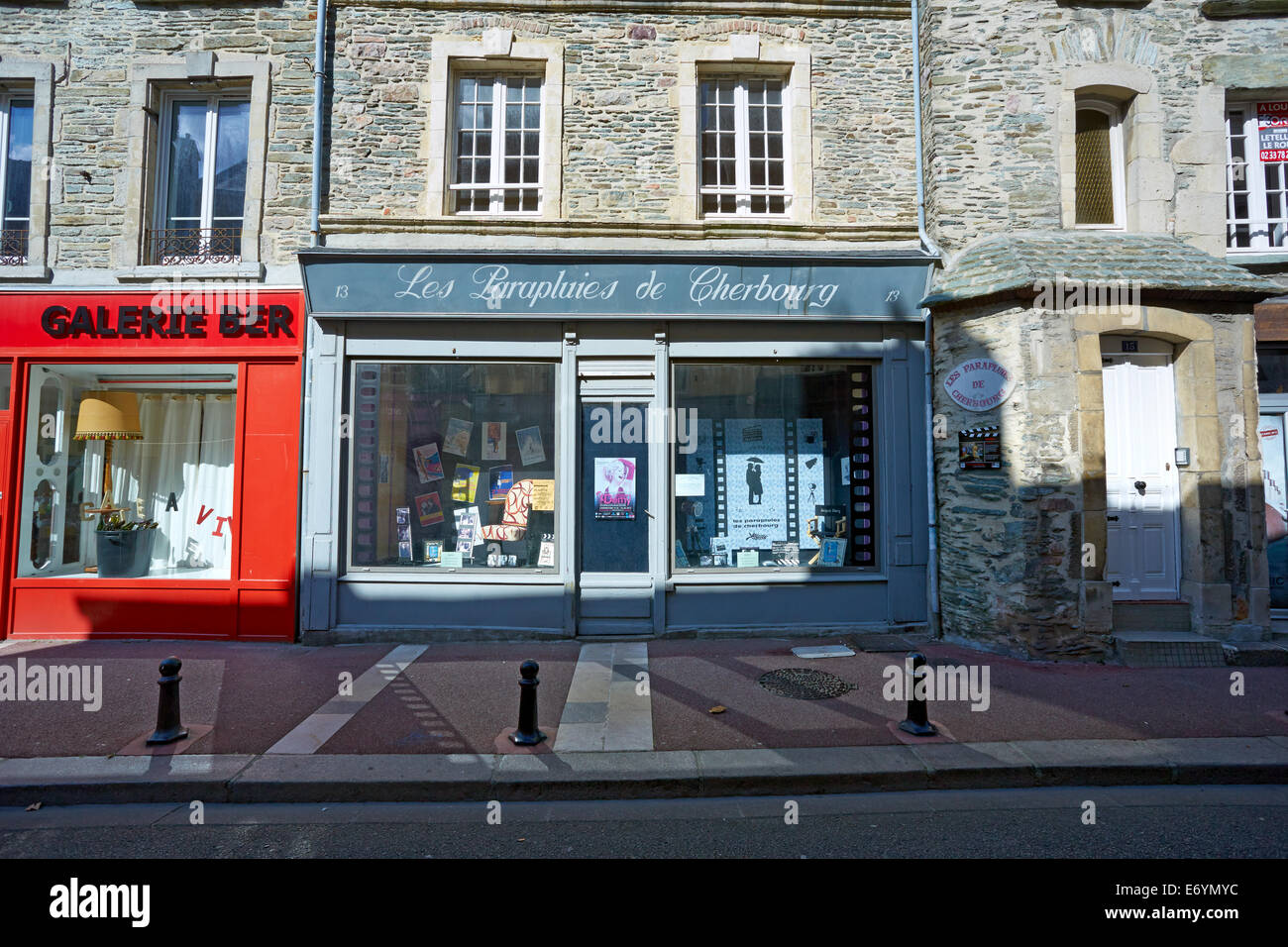 Les Location Photograph Of The Shop Used For The Exterior Location For Les