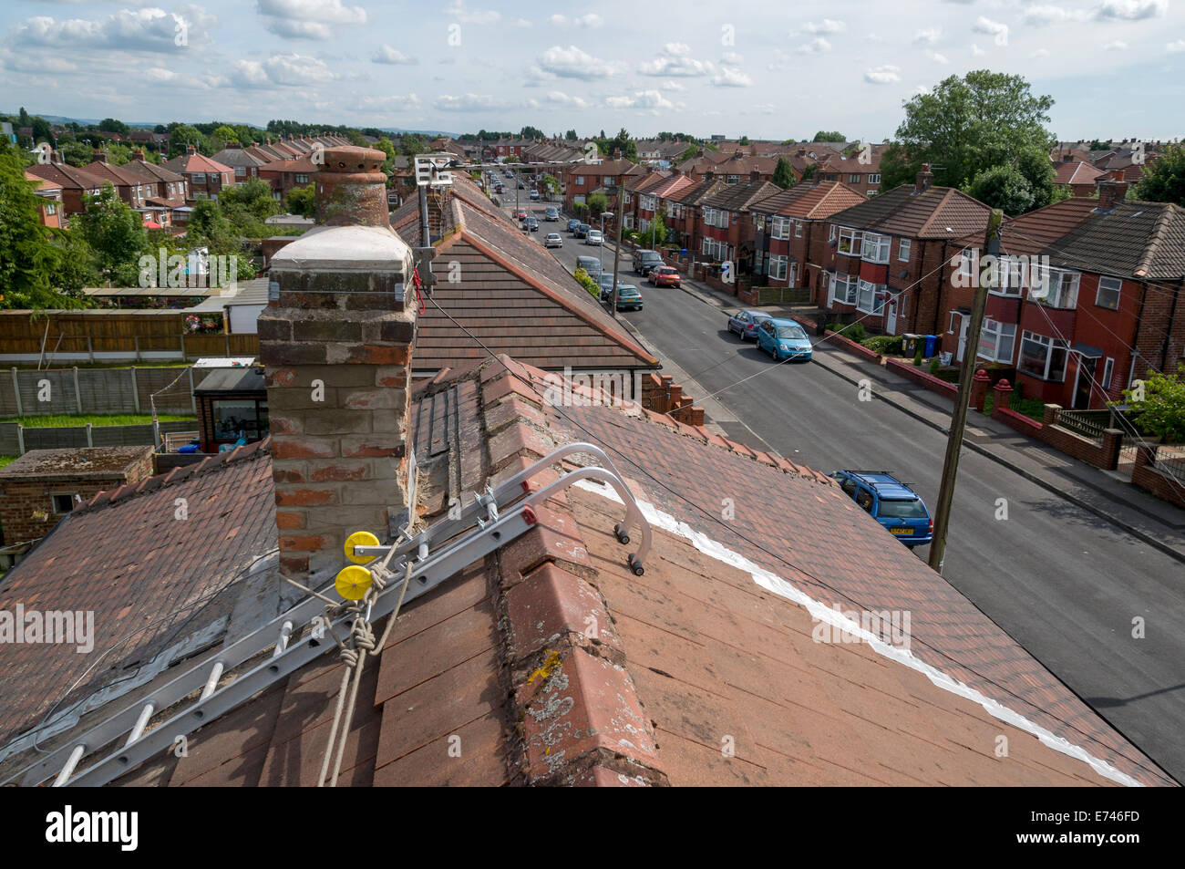 Chimney Ladder Stock Photos Chimney Ladder Stock Images