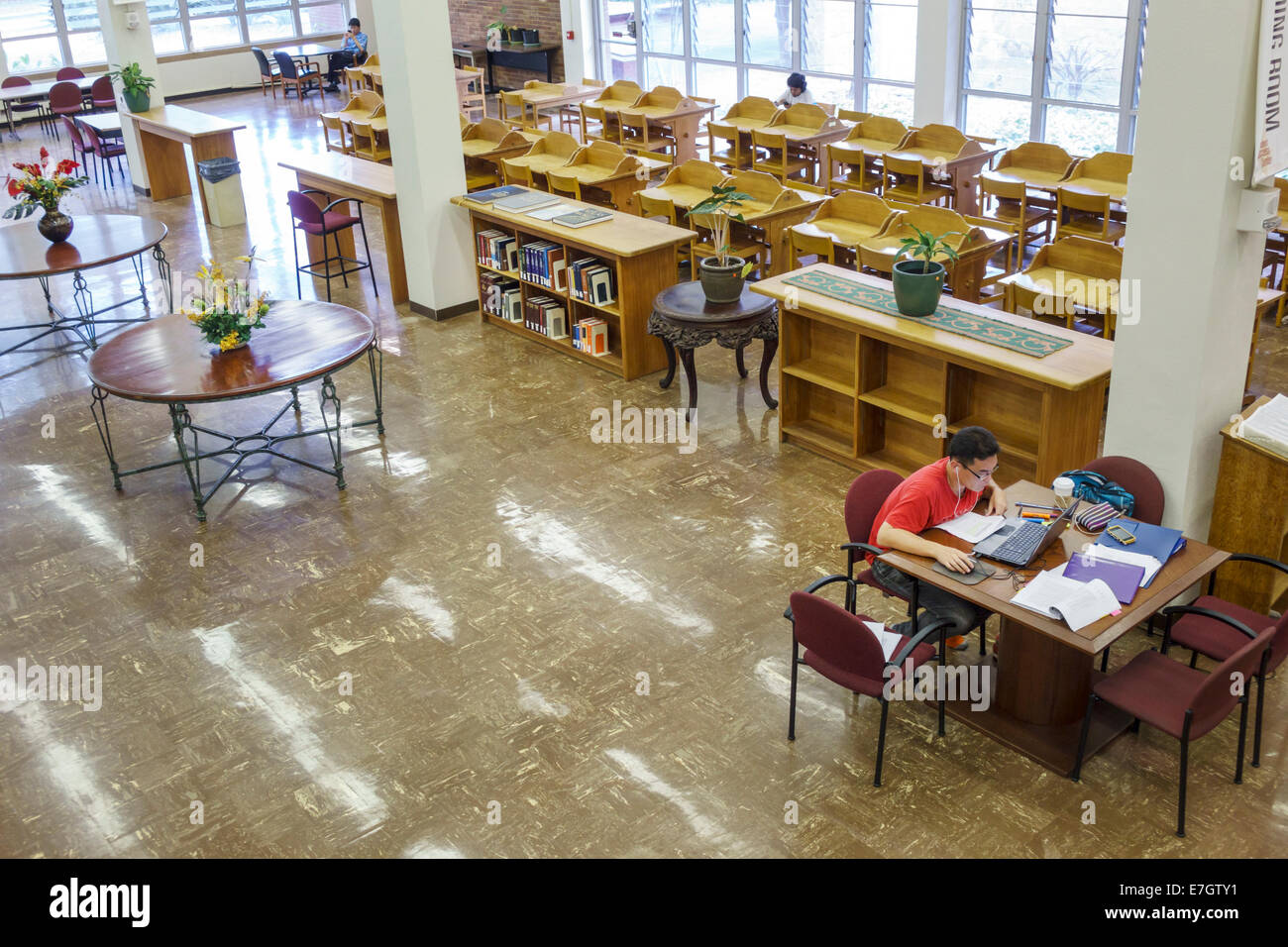 Hawaii Hawaiian Oahu Honolulu University Of Hawaii At Manoa Stock Photo Alamy