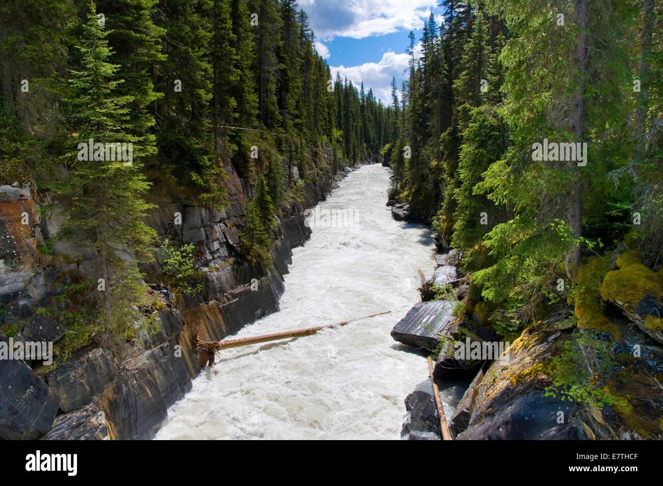 Wallpaper Of Water Fall Numa Falls Kootenay National Park British Columbia