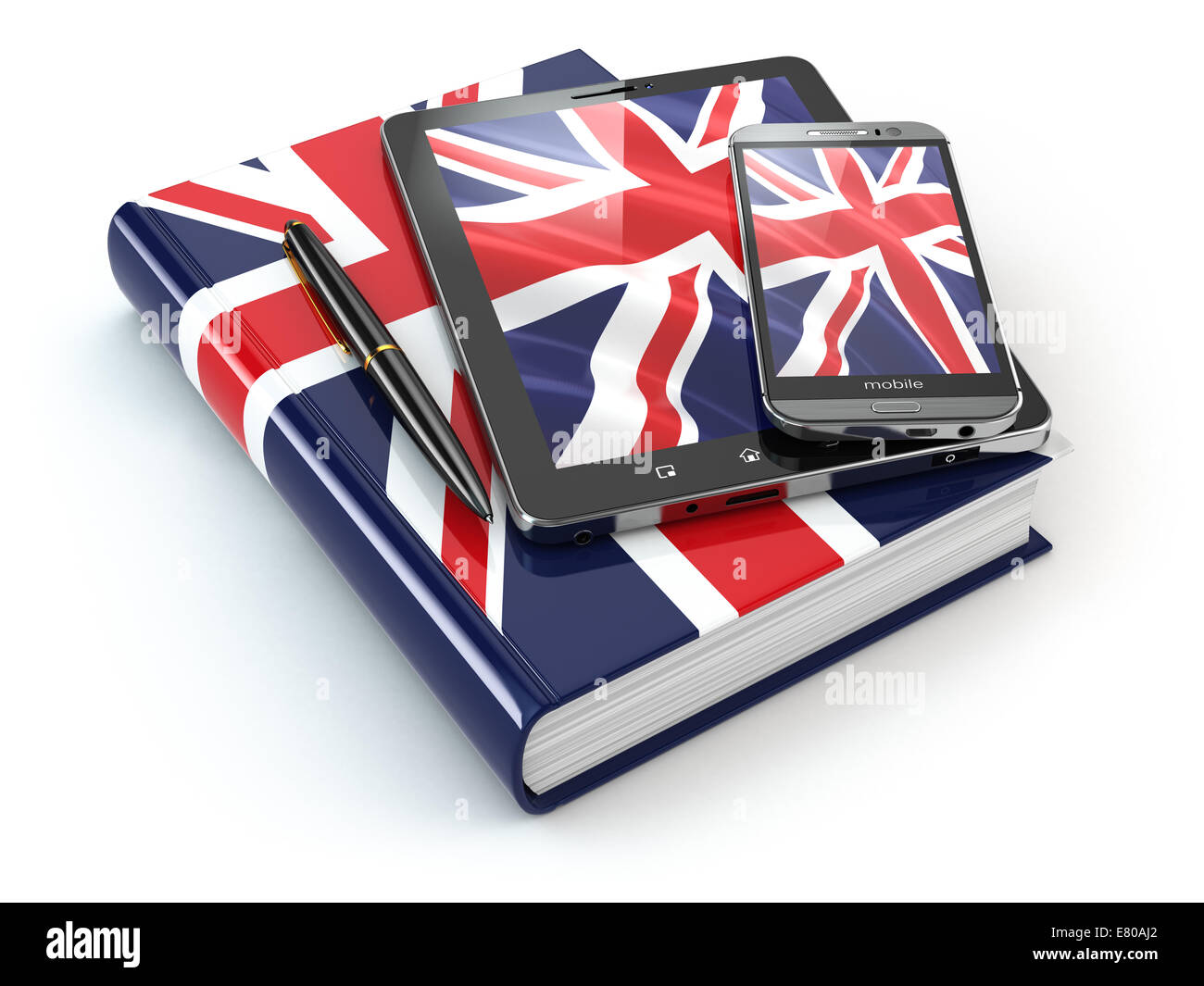 English Pc English Learning Mobile Devices Smartphone Tablet Pc And Book
