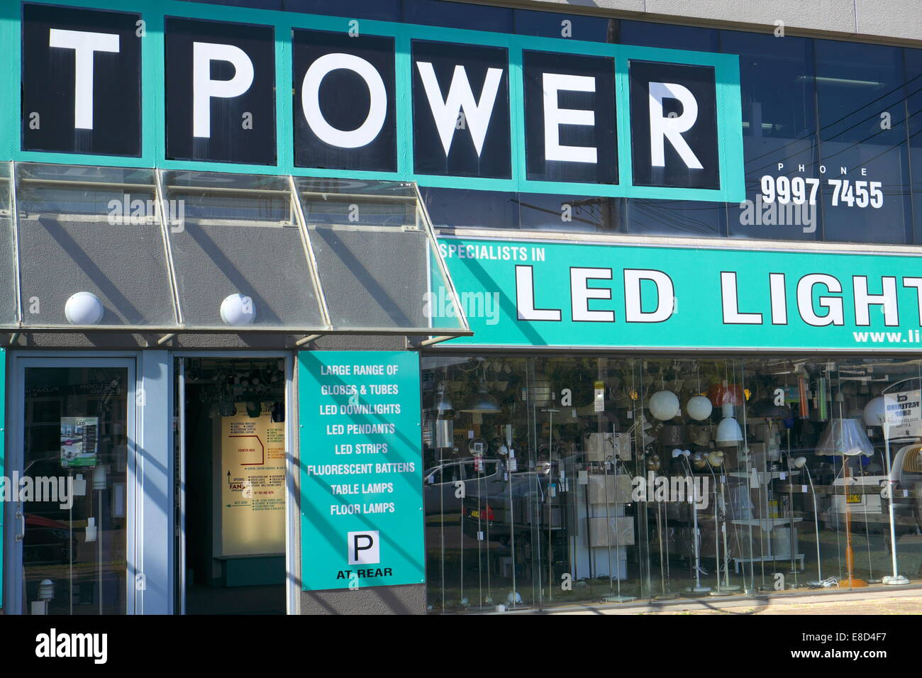 Retail Lighting Stores Sydney Lighting Store Stock Photos Lighting Store Stock Images Alamy