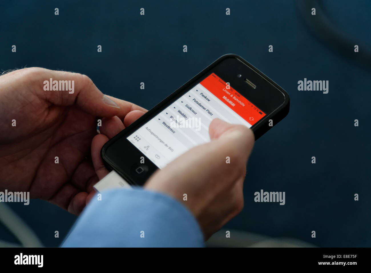 Bahn App S Bahn App Stock Photos S Bahn App Stock Images Alamy