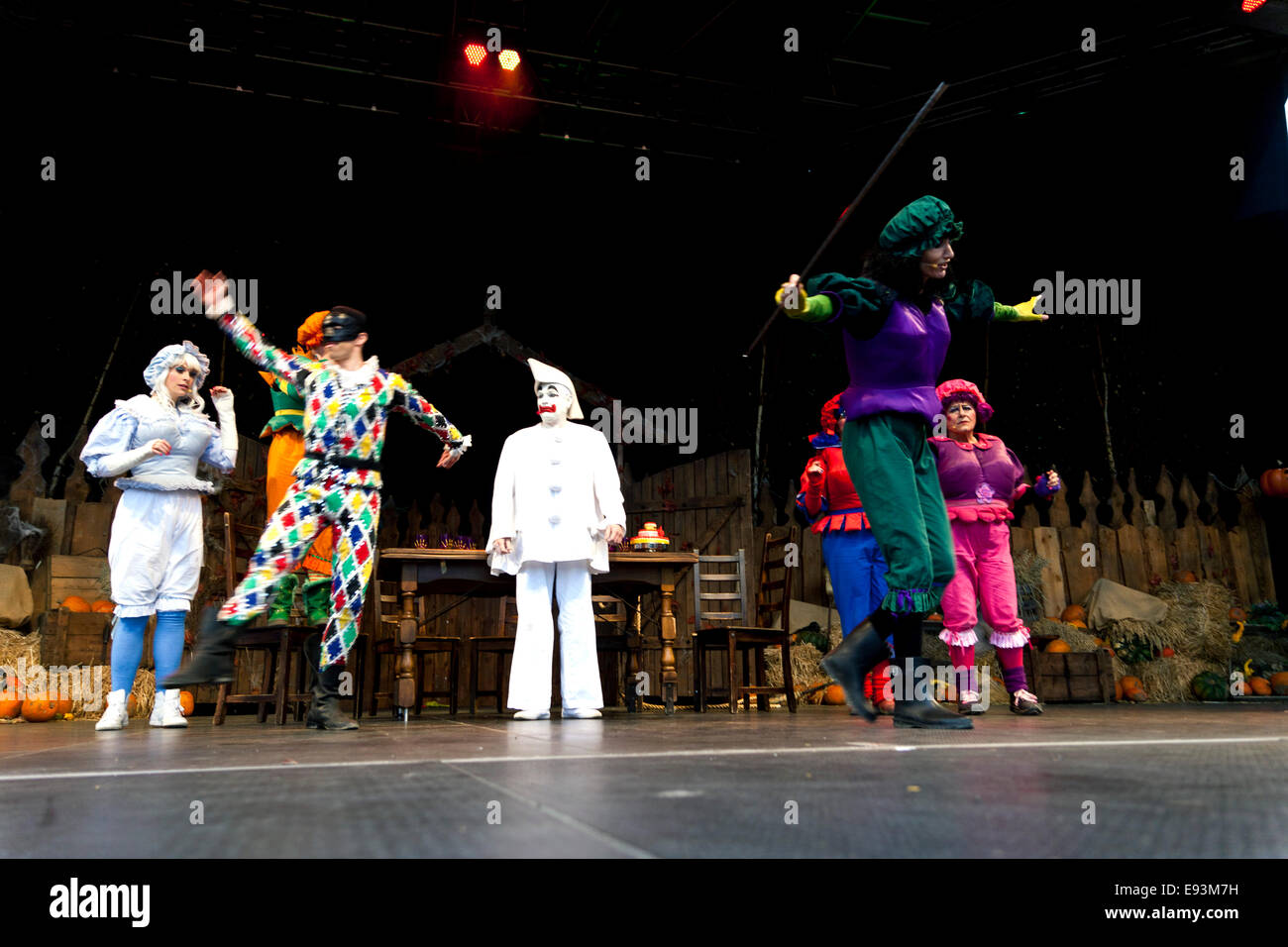 Halloween Dressed Tivoli Copenhagen High Resolution Stock Photography And Images Alamy
