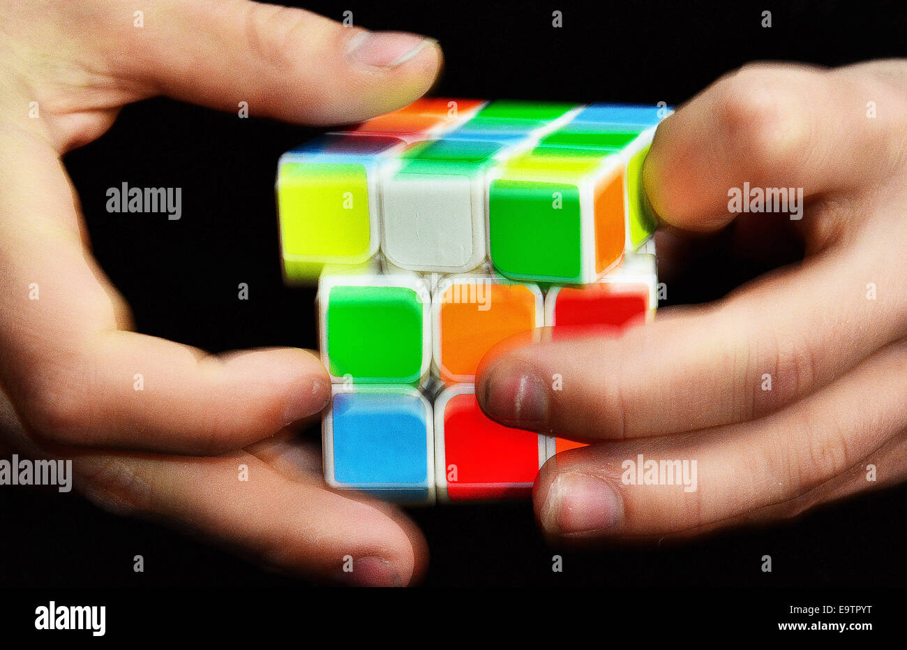 Rubik's Cube Montreal Cube Event Stock Photos Cube Event Stock Images Alamy