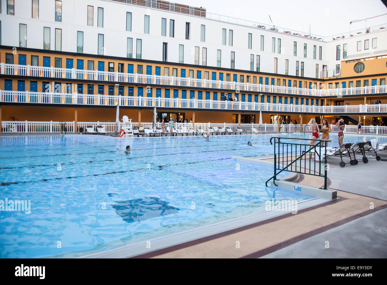 Hotel Molitor Piscine France Paris Hotel Molitor Swimming Pool Stock Photo 74968823