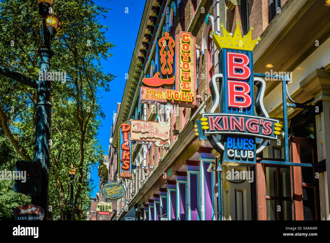 Merchants Nashville Bb King 39s Blues Club On 2nd Avenue North In Downtown