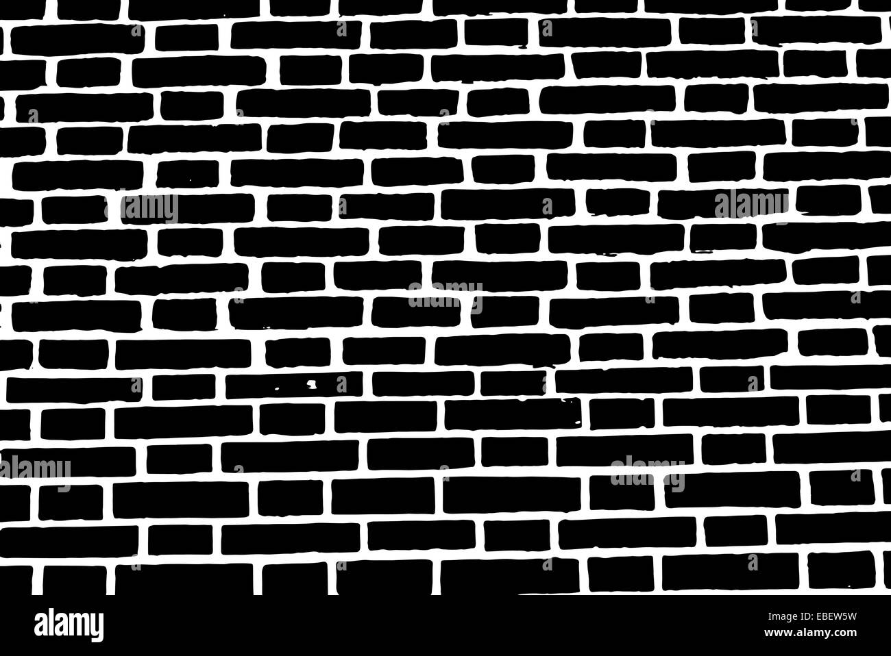 Black Brick Wall Black Brick Wall Texture Vector Background Old Rough