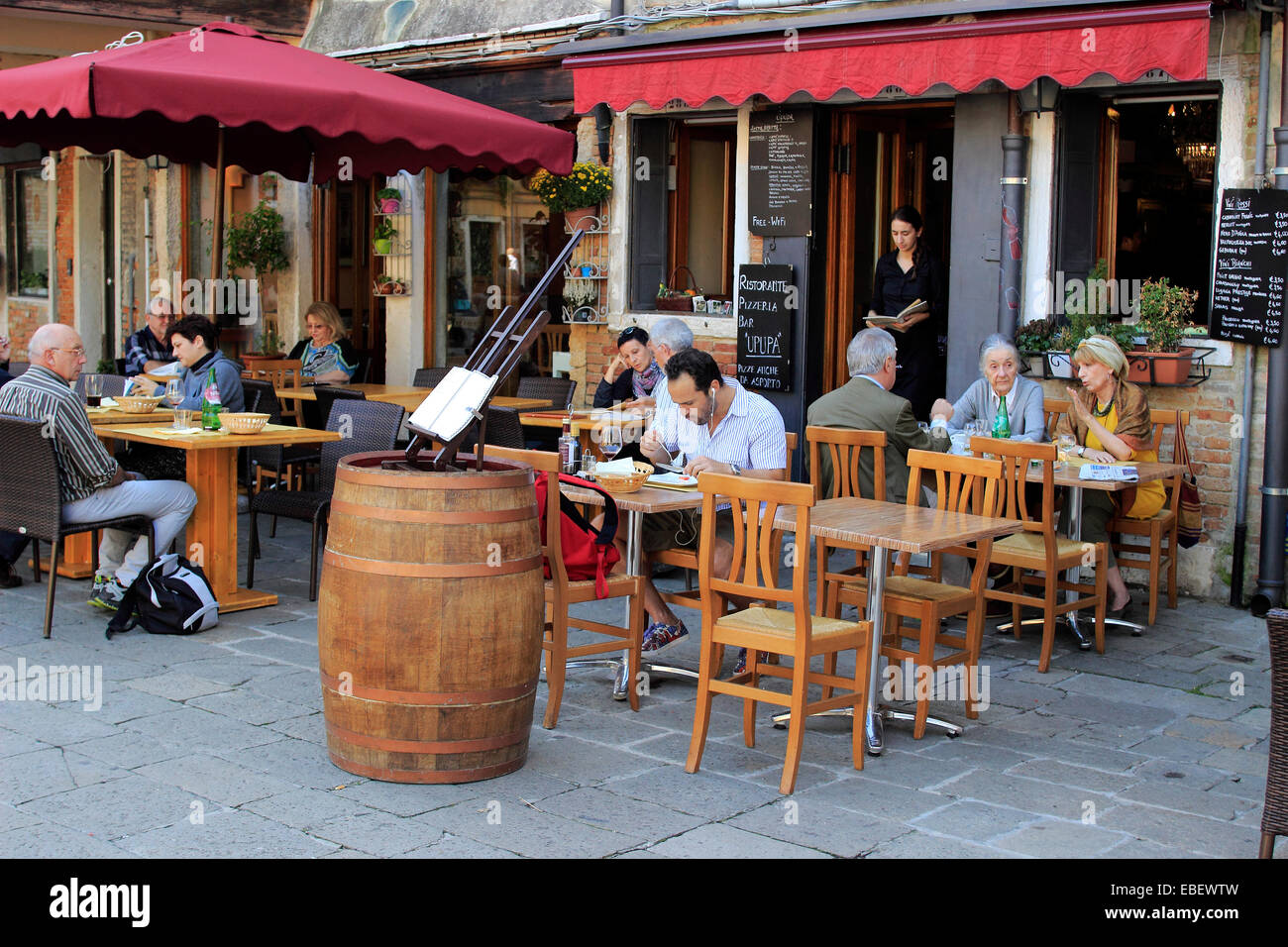 Ristorante Cucina Kosher Padova Italy Restaurant Couple Stock Photos Italy Restaurant Couple