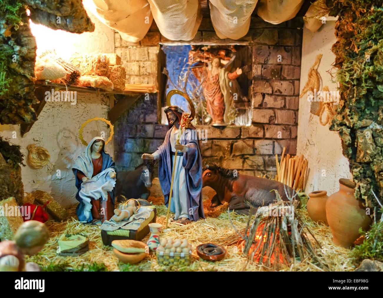 Infant Jesus Hd Wallpapers Nativity Scene Of A Belen Bethlehem Christmas Spain