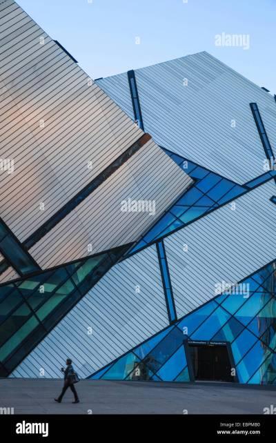 Michael Lee-Chin Crystal, Architect Daniel Libeskind, Royal Ontario Stock Photo, Royalty Free ...