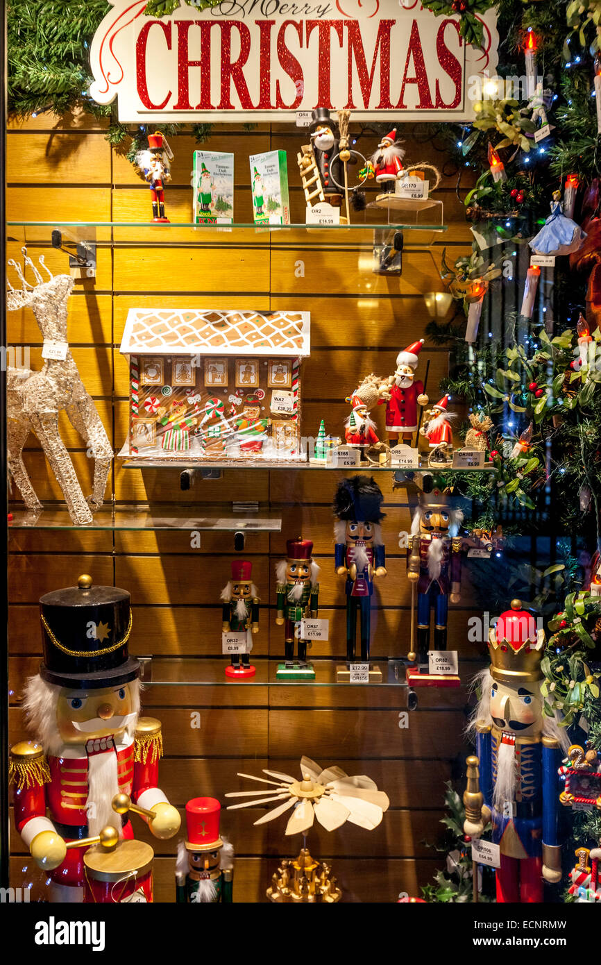 Toy-toys Shop The Christmas Shop Hay 39;s Galleria London England Stock