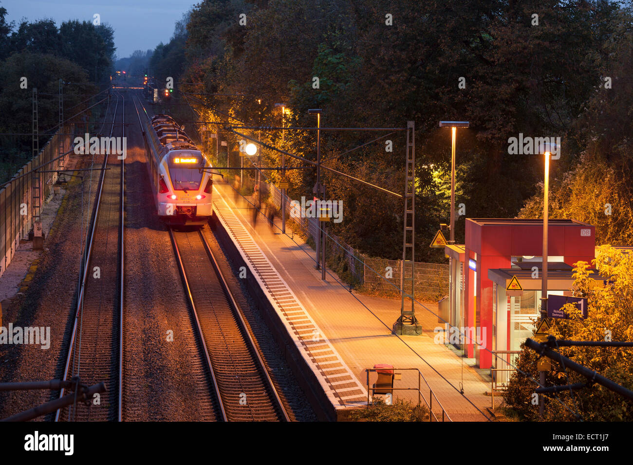 Kamen Bahnhof Germany North Rhine Westphalia Kamen Methler Railway Station Of