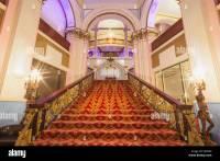 England, Yorkshire, Scarborough, The Grand Hotel, Interior ...