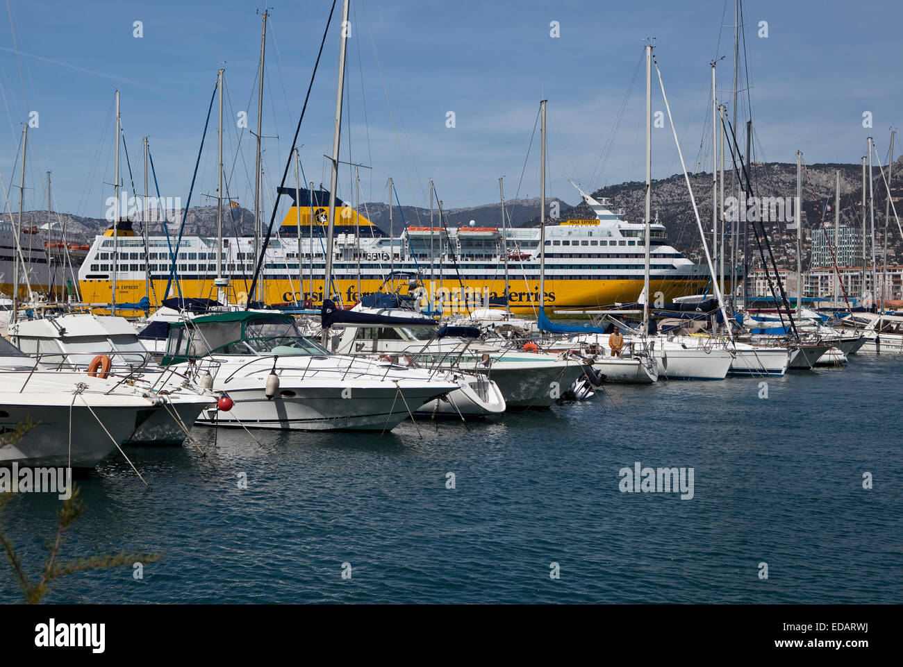 Hotel Port Toulon France Toulon Stock Photos And France Toulon Stock Images