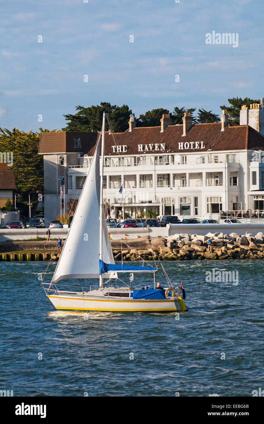 Bed And Breakfast Poole Harbour Haven Hotel Stock Photos Haven Hotel Stock Images Alamy
