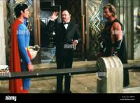 CHRISTOPHER REEVE GENE HACKMAN & MARK PILLOW SUPERMAN IV ...