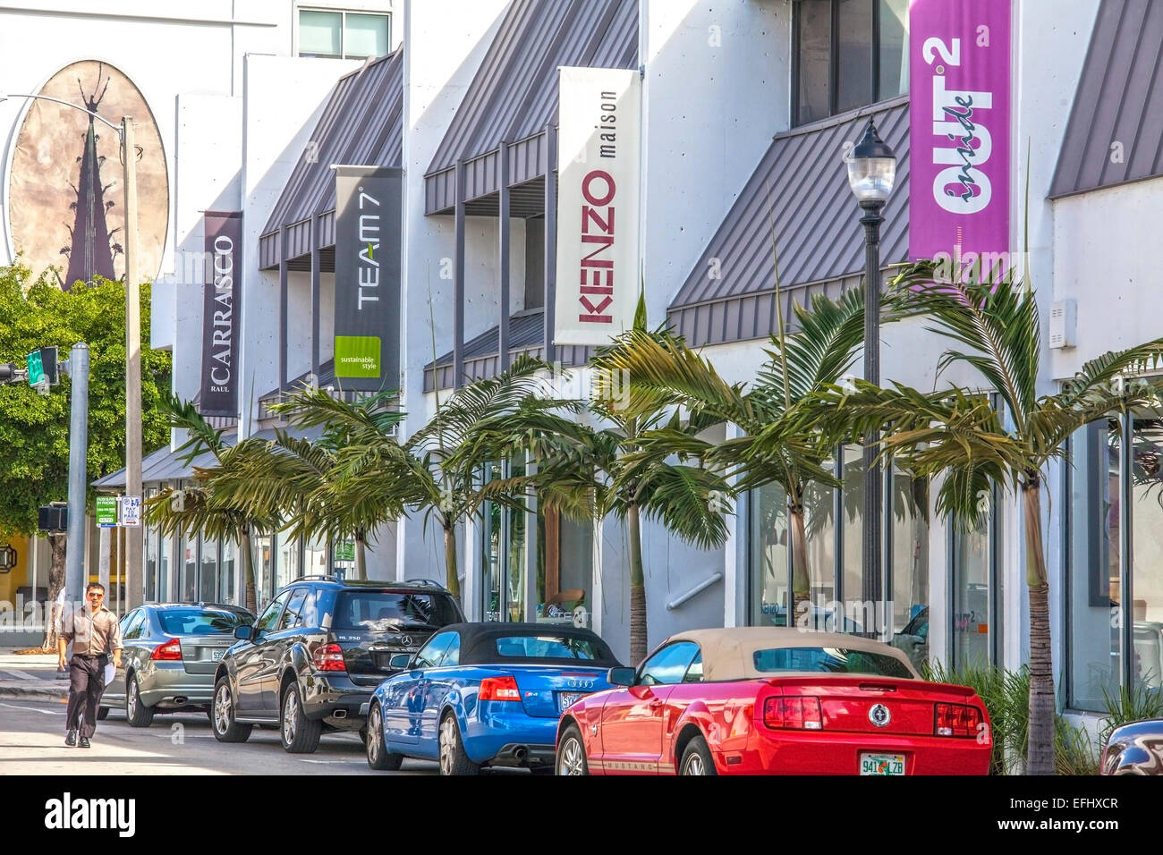 Deco Maison Usa Shops In The Design District Miami Florida Usa Stock Photo
