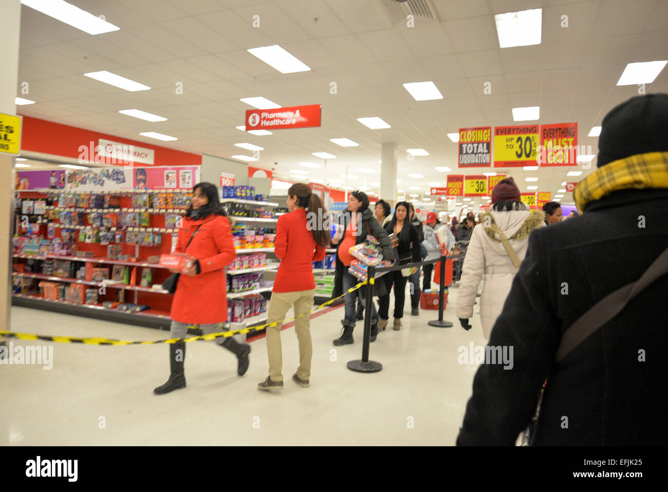 Liquidation Stores In Gta Toronto Ontario Canada 5th February 2015 Target