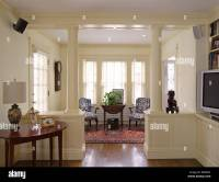 English American Country Home Interiors, Jamaica Plain ...