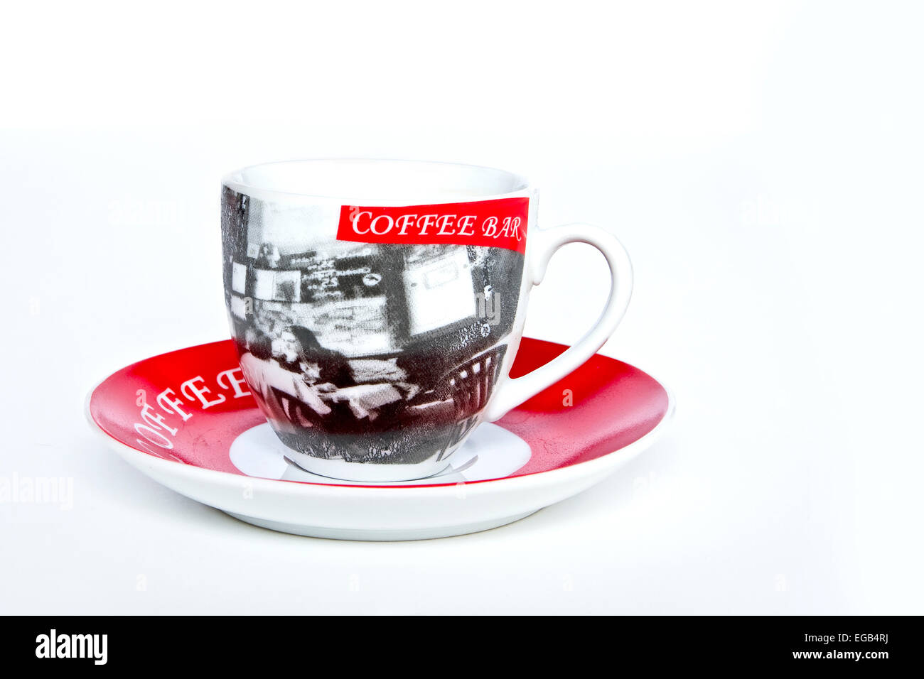 Small Coffee Cups And Saucers Small Espresso Coffee Cup And Saucer Stock Photo 78921238 Alamy