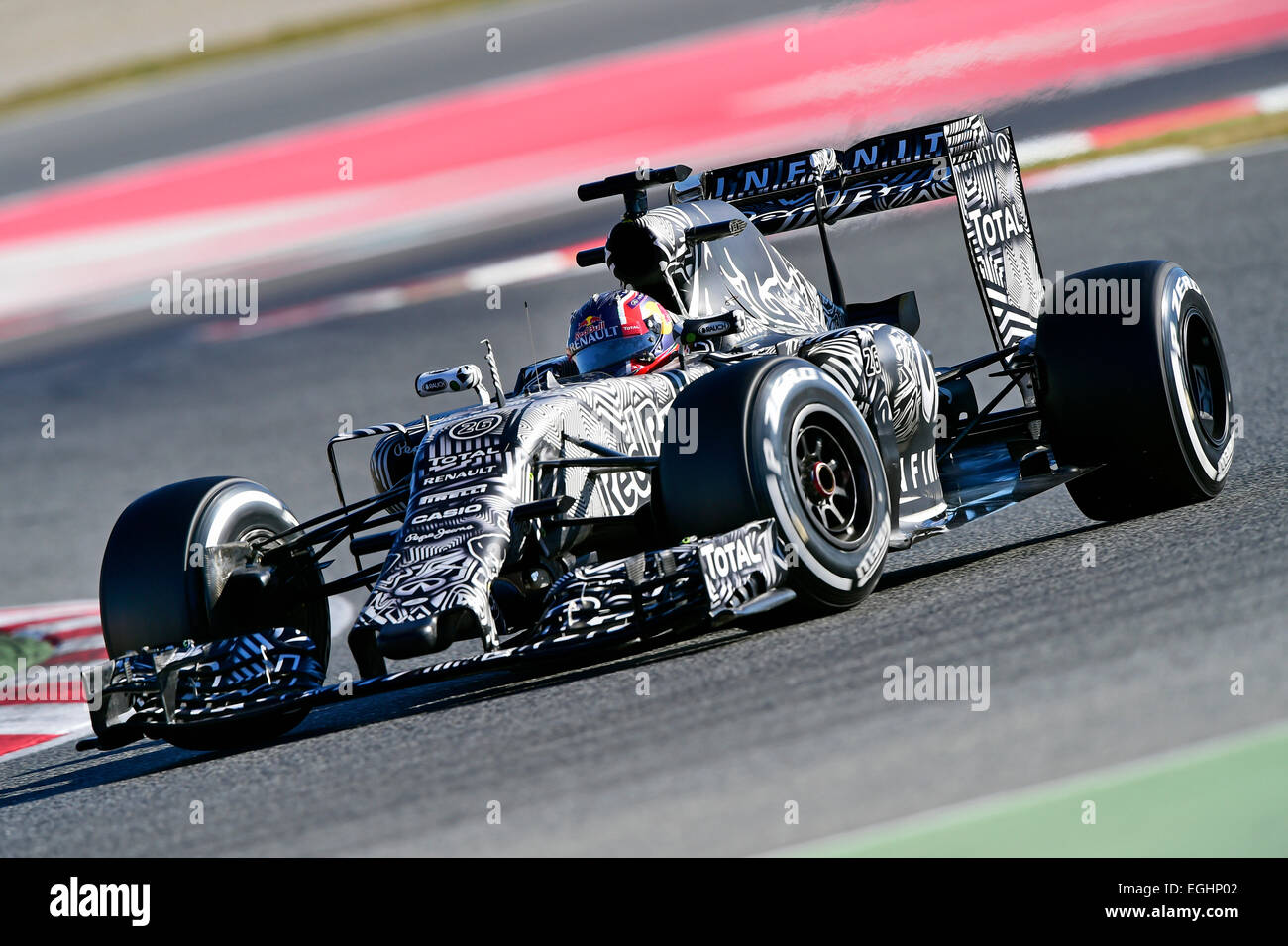 Red Bull Rb11 Danill Kwjat Rus Infiniti Red Bull Racing Rb11 Formula 1
