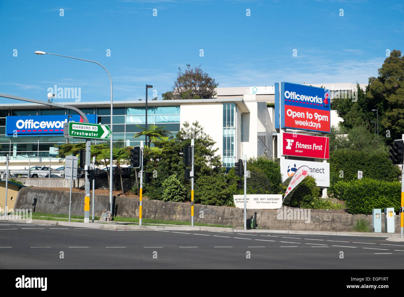 Office Works Sydney Brookvale Stock Photos And Brookvale Stock Images Alamy