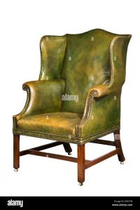Old Leather Chair Stock Photos & Old Leather Chair Stock