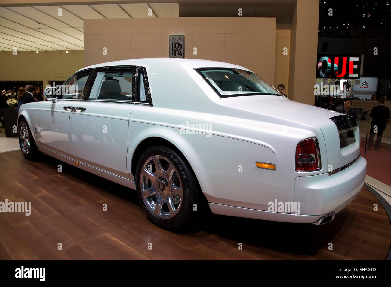 Phantom Serenity Rolls Royce Phantom Serenity At The Geneva Motor Show 2015 Stock
