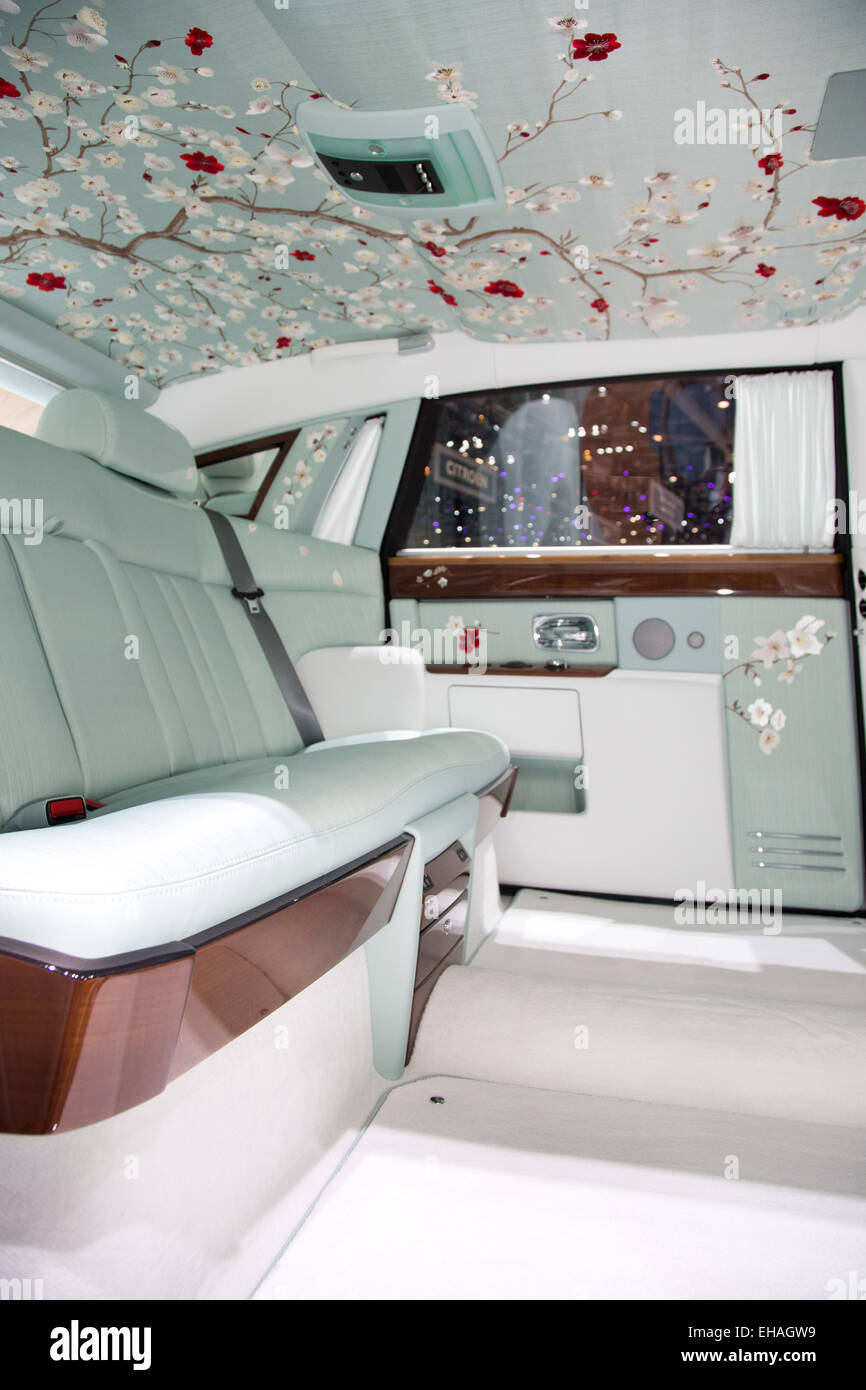 Phantom Serenity Rolls Royce Phantom Serenity Interior At The Geneva Motor Show