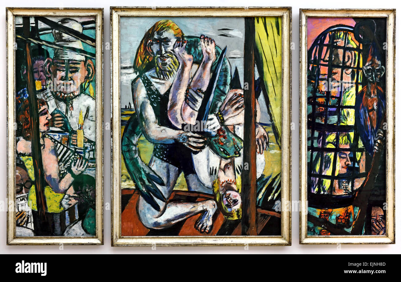 Perseus Triptychon 1941 Max Beckmann 1884 1950 German Germany Stock Photo Alamy
