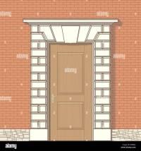 Door Drawing & Vector Drawing Of Front Door Sc 1 St Alamy