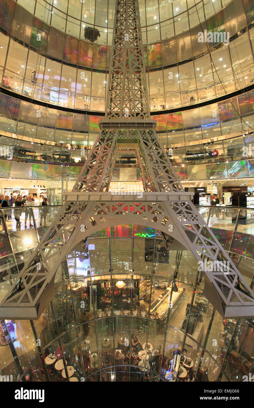Interior Berlin Germany, Berlin, Galeries Lafayette, Department Store