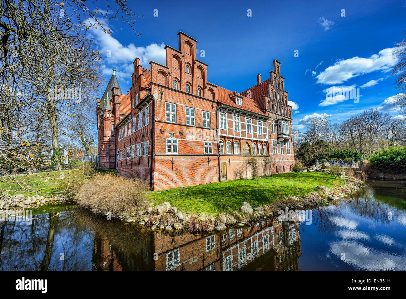 Badewannendoktor Hamburg Bergedorf Bergedorf Castle Hamburg Germany Stock Photo 81819069 Alamy
