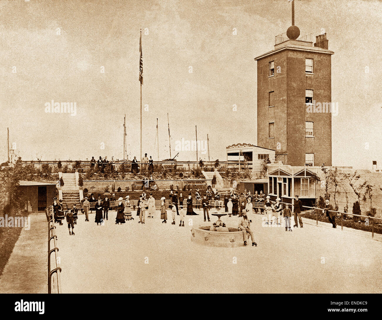 Roller skating rink deal kent early 20th century