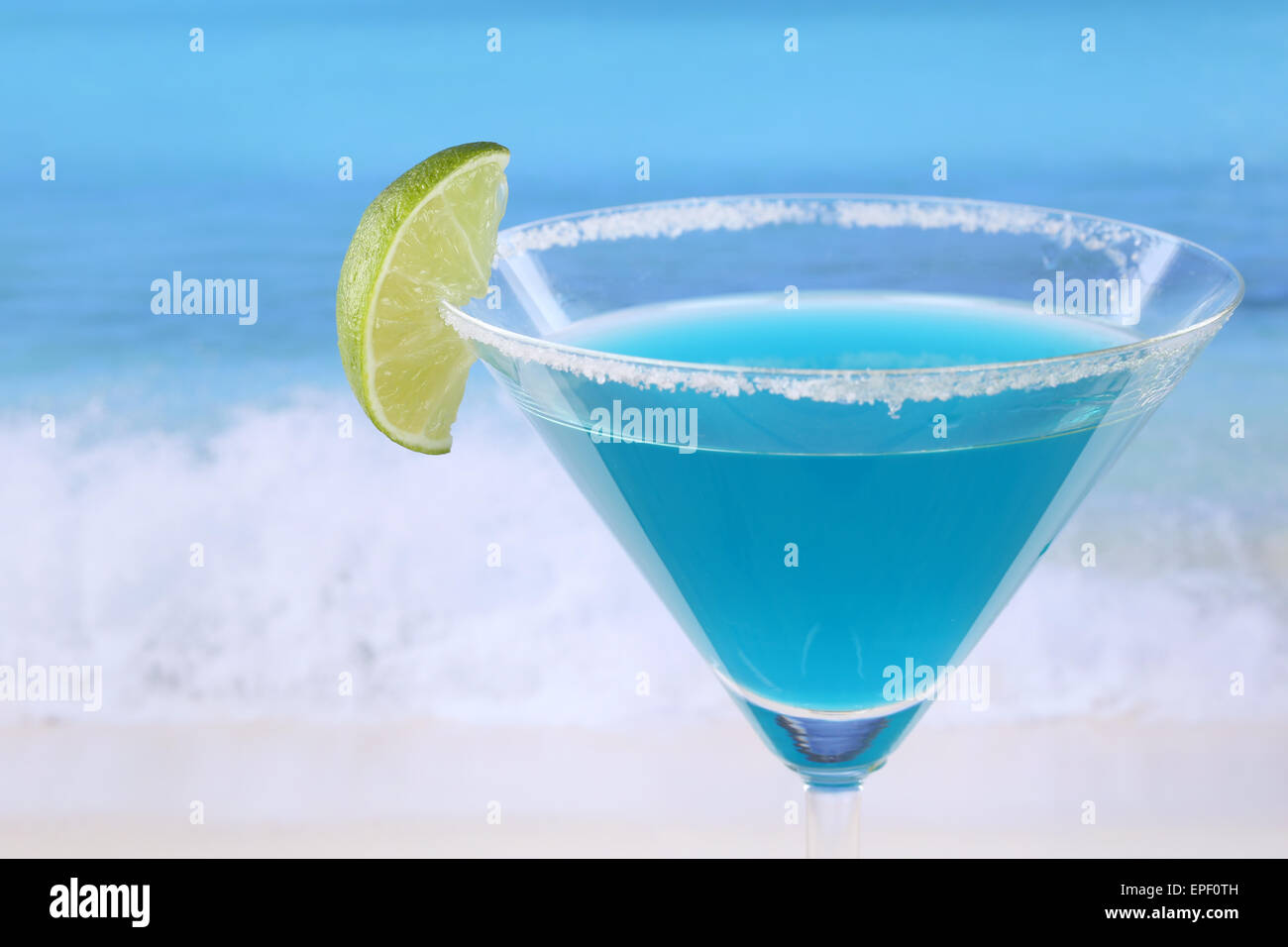 Blue Curacao Cocktail Alkoholfrei Cocktail Mit Alkohol Stock Photos Cocktail Mit Alkohol Stock