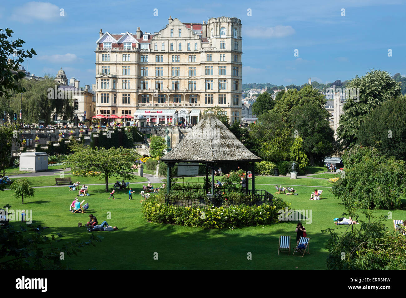 Bed And Breakfast Bath Uk Parade Gardens Old Empire Hotel Bath City Somerset Uk England