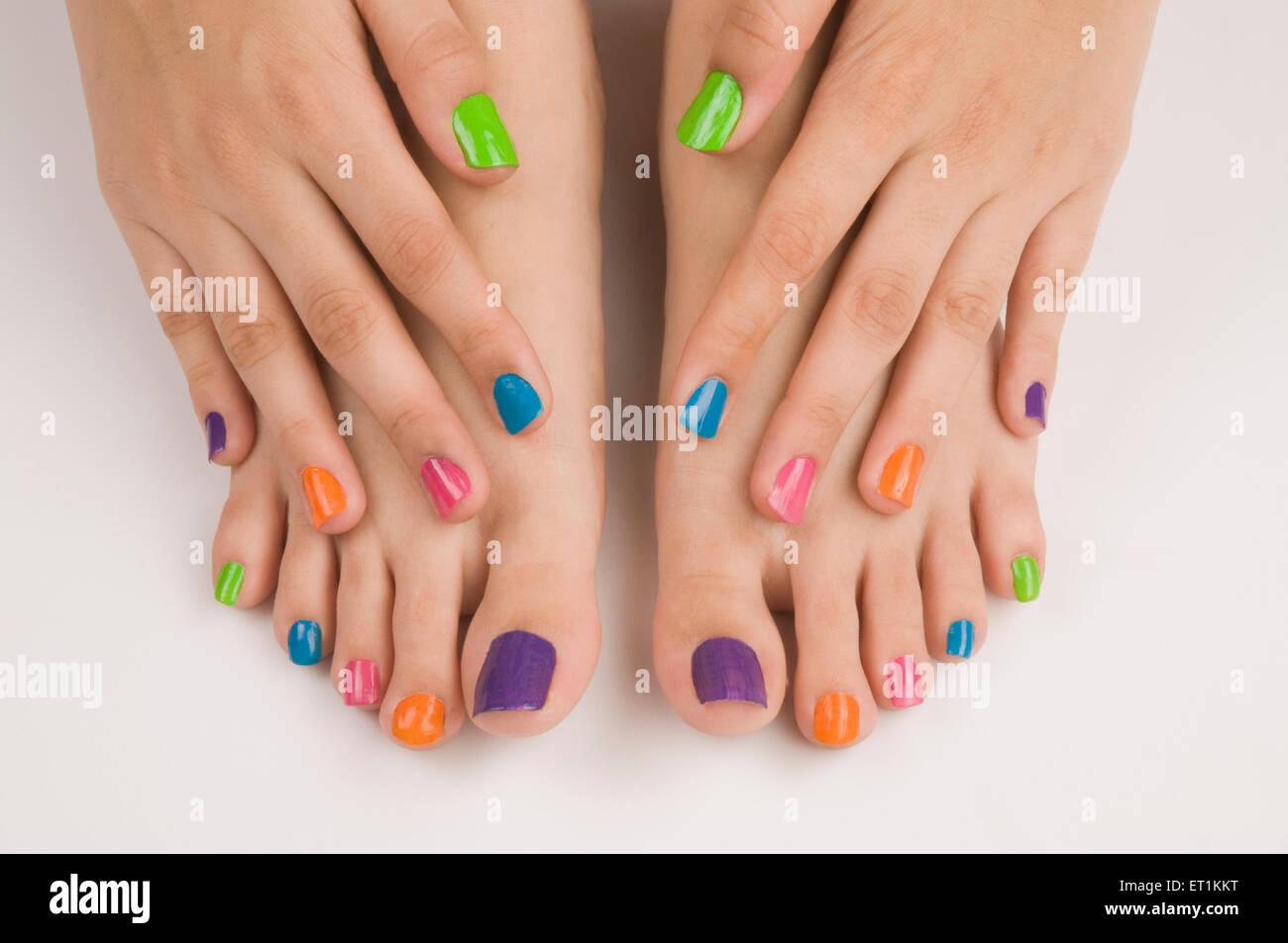 Different Colours Of Nail Polish On Nails Pune Maharashtra