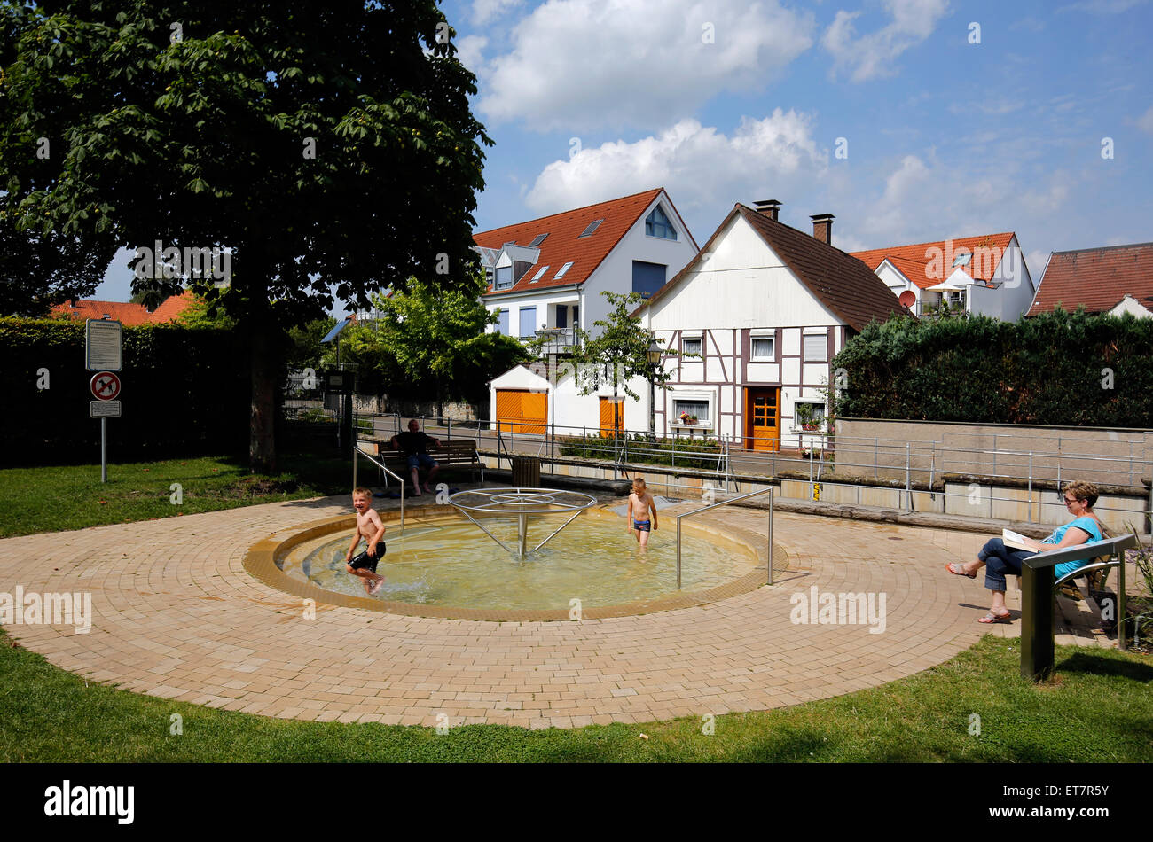 Bad Lippspringe Bad Lippspringe Germany A Playground In The Park On The
