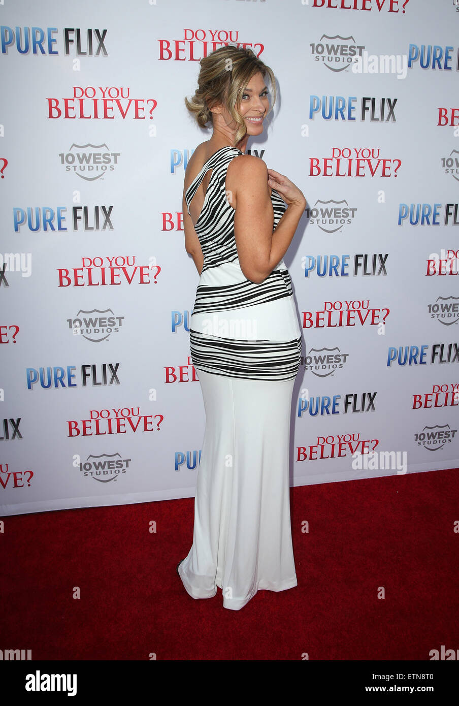 Flixbi Premiere Of Do You Believe Arrivals Featuring Tracy Melchior