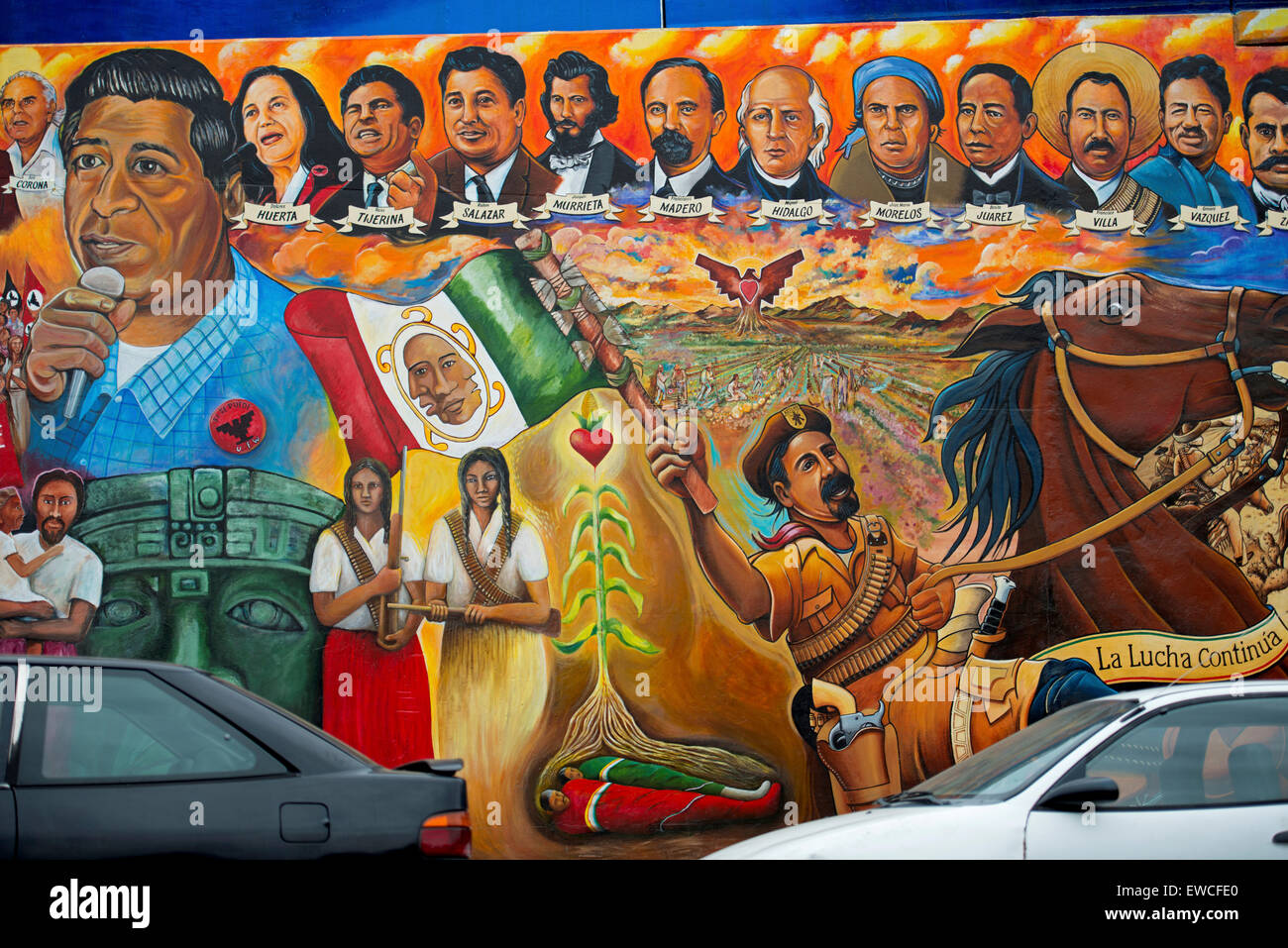 Arte Chicano Murals Chicano Art Stock Photos Chicano Art Stock Images Alamy