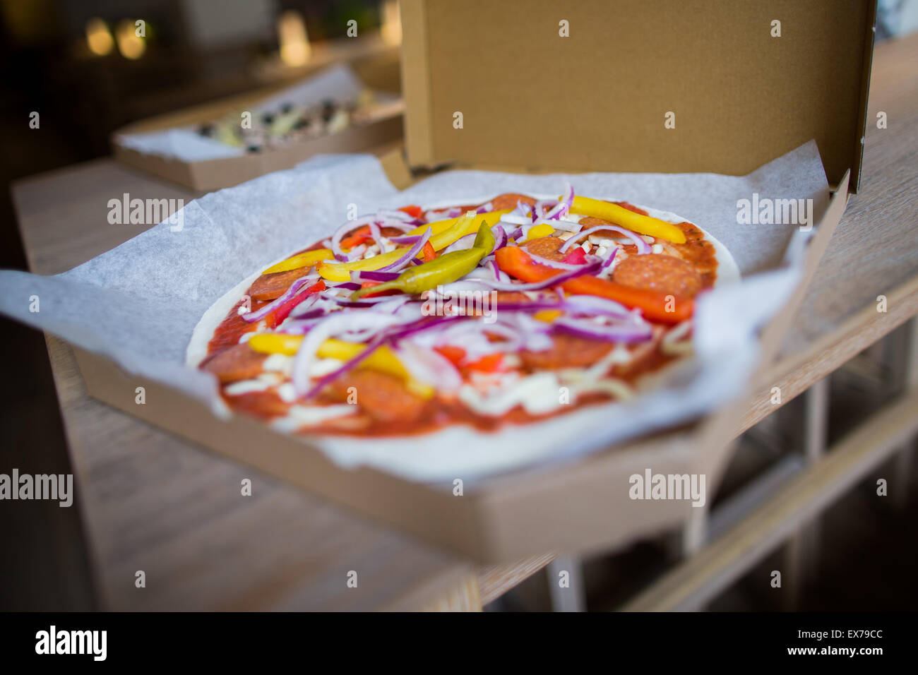 Pizza Family Braunschweig Hopes Future Stock Photos Hopes Future Stock Images Alamy