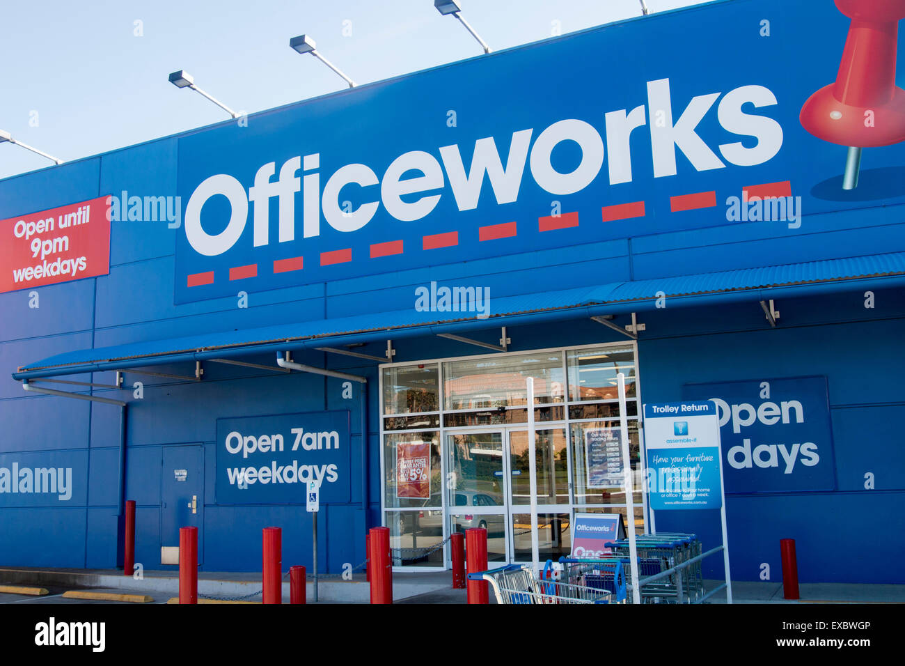 Office Works Sydney Officeworks Store In North Sydney Australia Based On The